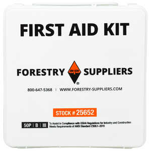 Forestry Suppliers 50-Person Industrial First Aid Kit, Class B