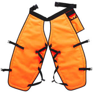 "PGI 5-Ply Para-Aramid Chain Saw Chaps, Orange, 40""L"