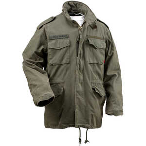 Vintage M-65 Field Jacket, Olive Drab, XX-Large (49-53)