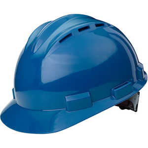 Bullard Model S62 Low-Profile Vented Cap, Blue, Ratchet Suspension