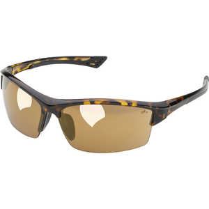 Elvex Sonoma Safety Glasses, Gold Mirror Lens, Tortoise Frame