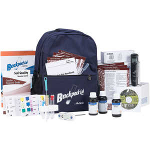 Hanna Instruments Backpack Lab Soil Quality Educational Test Kit
