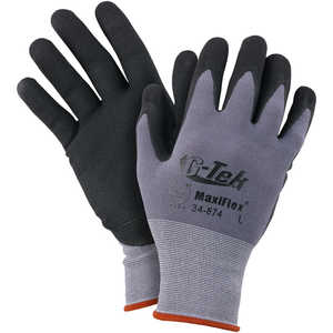 MaxiFlex™ G-Tek® Work Gloves – Micro-Foam Nitrile Coated Palms