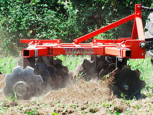 "6'8"" Tufline THE Series 3-Point Lift Tandem Disc Harrow, Width of Cut: 6'8"""
