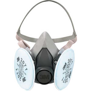 3M 6000 Series Half-Mask Respirator, Medium