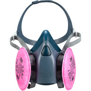 3M 7500 Series Half-Mask Respirator, Medium