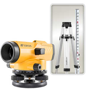 Topcon AT-B3A/PS Automatic Level Kit