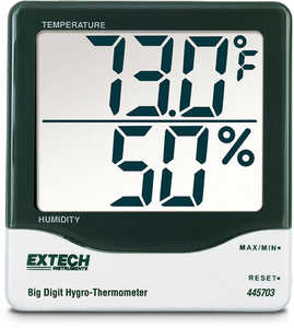 Extech Big Digit Hygro-Thermometer