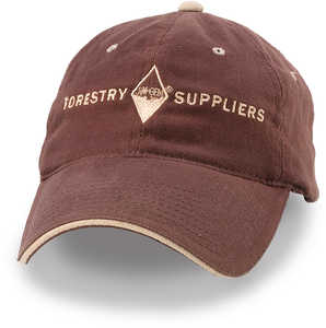Forestry Suppliers Field Cap, Brown with Tan Logo