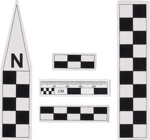 Mini North Arrow and Scale Set