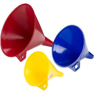 3-Piece Assorted Funnels