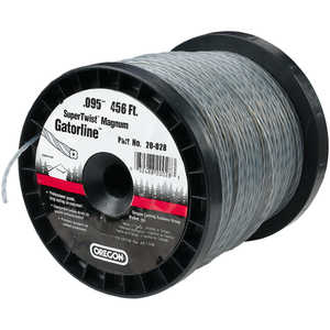 Oregon SuperTwist Magnum Gatorline, 0.095 gauge, 3 lb. Spool