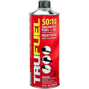 TruFuel 50:1 Engineered Fuel/Oil, Case of Six 32 oz. cans