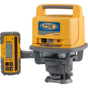 Spectra Geospatial LL500 Laser Level with HL700 Laserometer