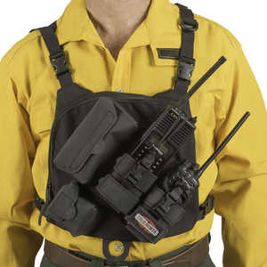 True North Universal Dual Radio Chest Harness