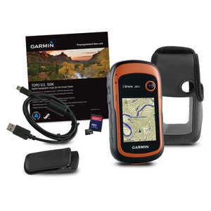 Garmin eTrex 20x Bundle with TOPO U.S. 100K
