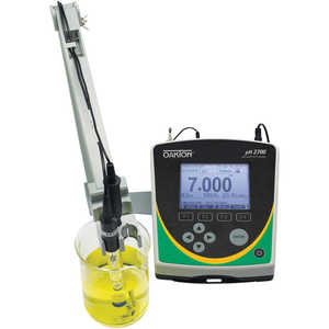 Oakton pH 2700 Benchtop Meter with Double-junction Refillable Glass pH Electrode, ATC Probe, and Electrode Arm