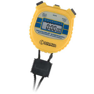 Traceable Waterproof/Shockproof Stopwatch