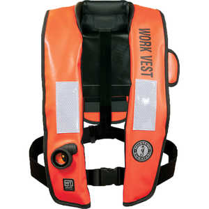Mustang Survival Inflatable Work Vest with HIT