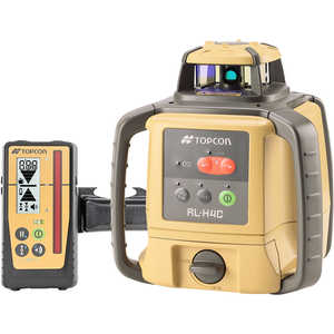 Topcon RL-H4C Self-Leveling Laser Level with Rechargeable Ni-MH Battery and LS-100D Laser Sensor