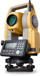 "Topcon ES-107 7"" Single Display Total Station"