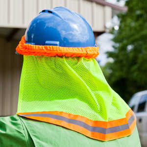 OK-1 Hard Hat Neck Shade