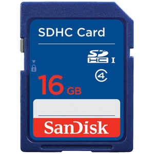 SanDisk 16 GB SDHC Class 4 Memory Card