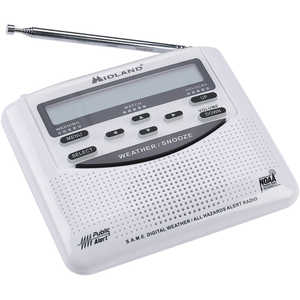 Midland Weather Alert Radio Model WR120