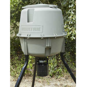 Moultrie 30-Gallon Deer Feeder Elite Tripod
