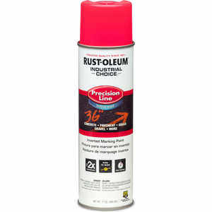 Fluorescent Red Rust-Oleum Industrial Choice Inverted Marking Paint