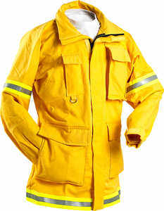 FireLine™ 9 oz. Ultra Soft Cotton Firefighting Coat with Reflective Trim
