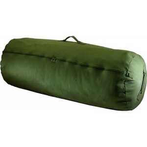 "50"" x 30"", Green Texsport Zippered Canvas Duffle Bag"