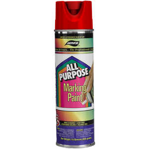 Aervoe All Purpose Marking Paint, Red