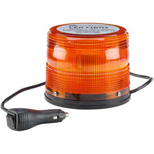 North American Signal 625 Series LED Beacon Light w/Magnetic Base, Amber