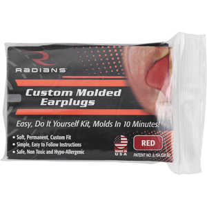 Radians Custom Molded Earplugs, Red