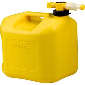 No-Spill CARB Compliant Diesel Can, 5 Gallon