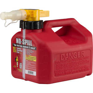 No-Spill CARB Compliant Gasoline Can, 1.25 Gallon