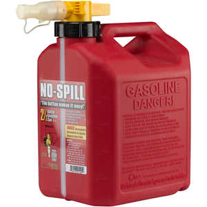 No-Spill CARB Compliant Gasoline Can, 2.5 Gallon