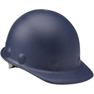 Fibre-Metal Roughneck P2 Cap Style Hard Hat with Swing Strap, Blue