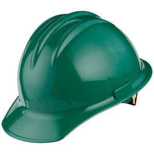 Bullard C30 Classic Slotted Cap, Green, Ratchet Suspension