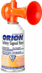 Orion Safety Signal Horn, 8 oz.