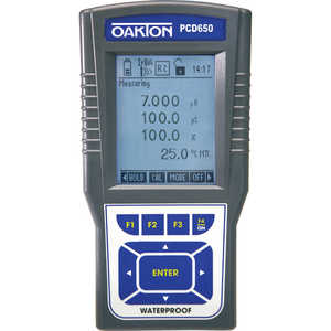 Oakton PCD650 pH/Conductivity/Dissolved Oxygen Meter Kit