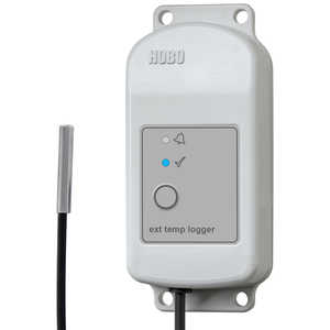 HOBO MX2304 Temperature Data Logger with One External Sensor
