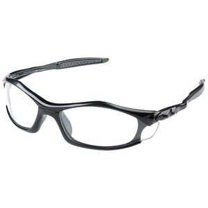 Pyramex Solara Safety Glasses, Black Frame/Clear Lens