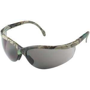 Radians Journey Safety Glasses, Camo Frame/Smoke Lens