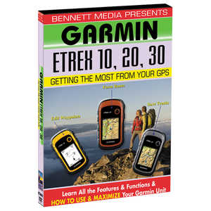 Garmin Training DVD for eTrex 10, 20, 30 Series