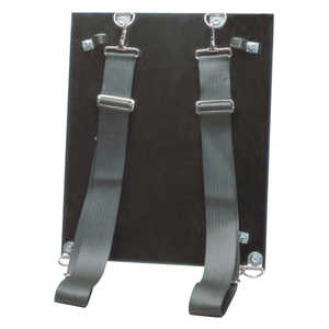 Back Board with Carrying Straps for Wick 80-4H/100-4H/100G/250/Si 250-7S Pumps