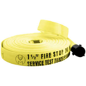"1-1/2"" x 100', NPSH Thread, Fire Boss Fire Hose"