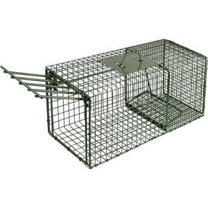 "Model 1109, Duke Heavy Duty Single Door Cage Trap, 26"" x 9"" x 9"""