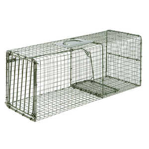 "Model 1112, Duke Heavy Duty Single Door Cage Trap, 30"" x 12"" x 12"""